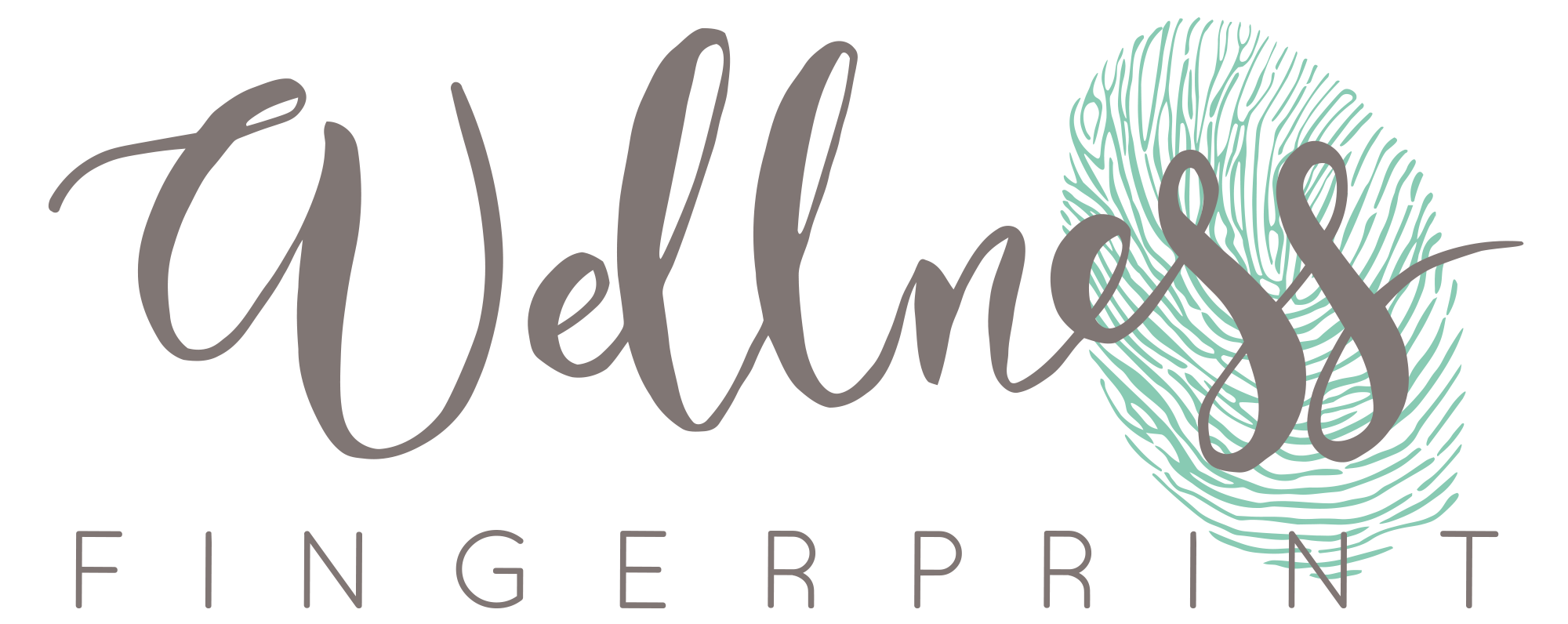 wellness fingerprint logo