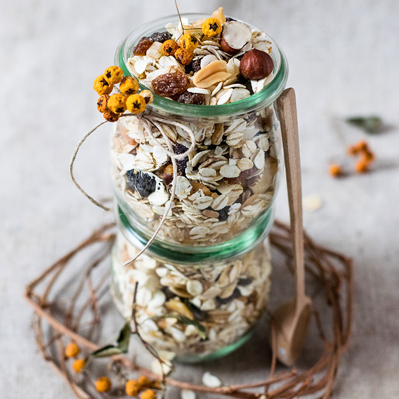 nutritional | breakfast | granola | recipe